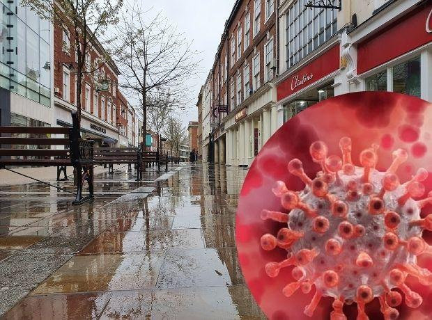CORONAVIRUS: Worcester High Street during lockdown