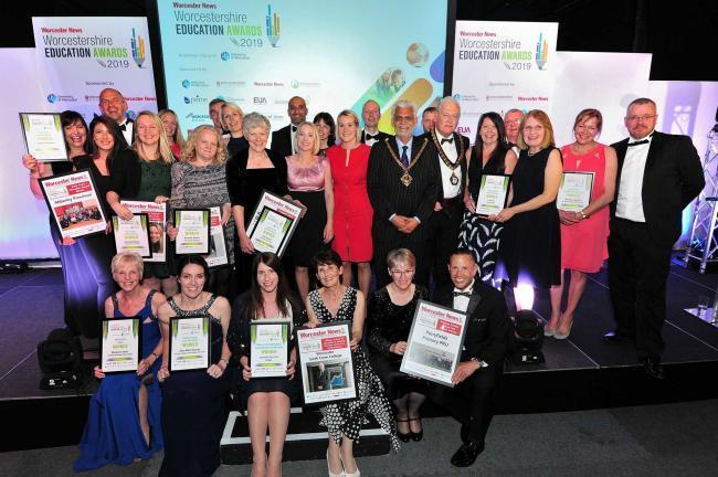 WINNERS: Worcestershire Education Awards 2019