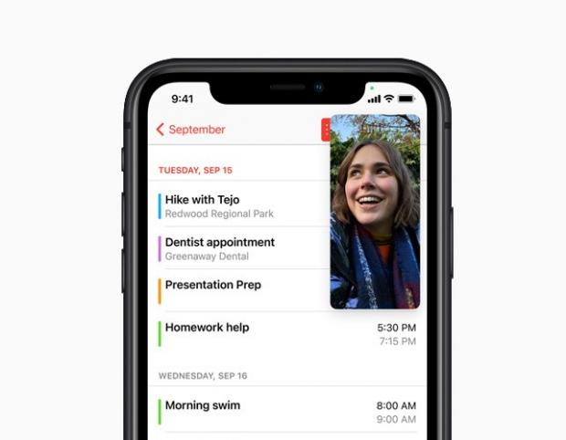 Worcester News: With Picture-in-Picture, users can watch a video or take a FaceTime call while using another app. Picture: Apple