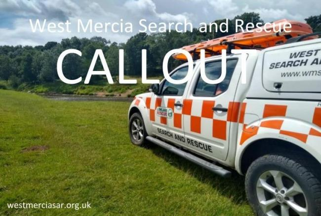 CALLOUT: Specialist search teams are en route to locate a high risk missing person in the Worcester area