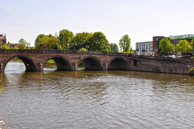 Worcester News: The River Severn and Worcester Bridge