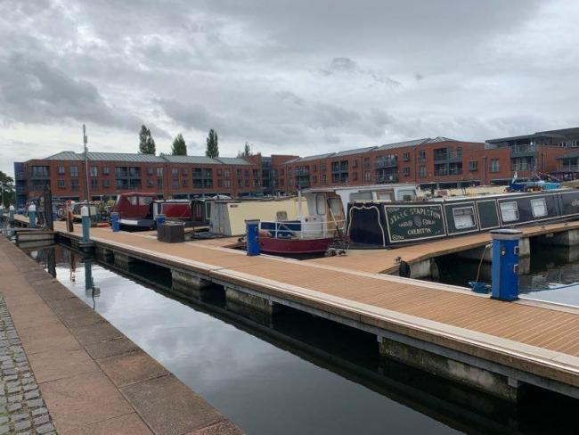REOPENING: Cafe Afloat, moored at Worcester's Diglis Basin, has been taken over by new management