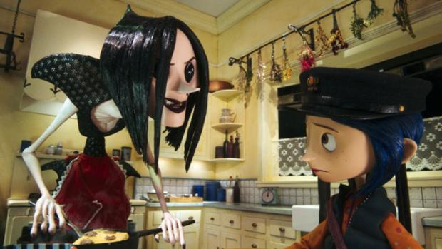 Worcester News: If the vacant button eye visuals don't creep your kiddo out, this is a wonderful film. Credit: Laika