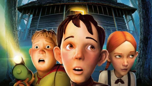 Worcester News: Three kids must destroy a house, at first just seems creepy, but it's actually alive! Credit: Columbia Pictures