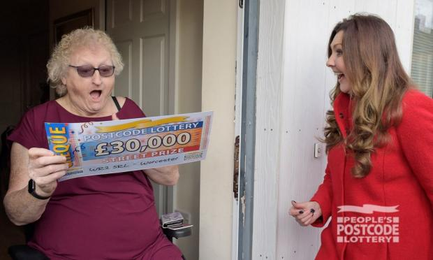 Worcester News: Miki won £30K (Photo: People's Postcode Lottery)