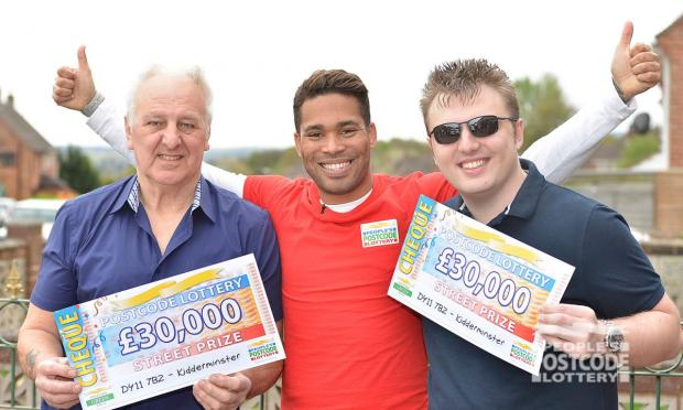 Worcester News: Tony (left) and Martin (Right) (Photo: People's Postcode Lottery)