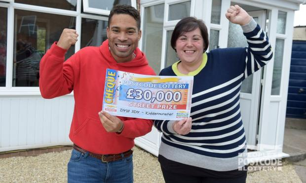 Worcester News: Rebecca won £30K (Photo: People's Postcode Lottery)