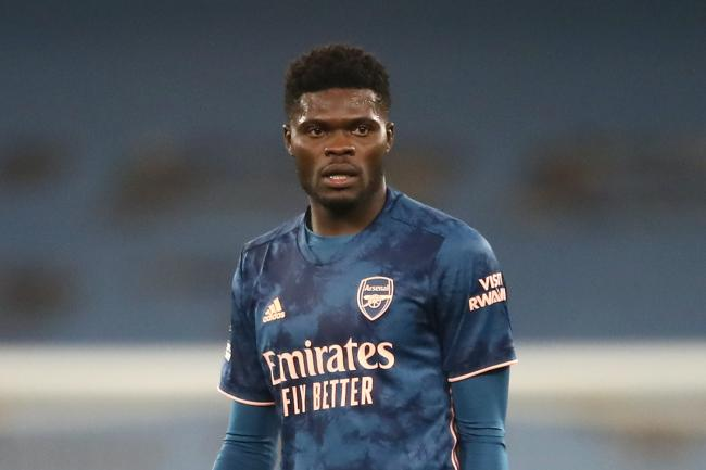 Thomas Partey signed for Arsenal on deadline day