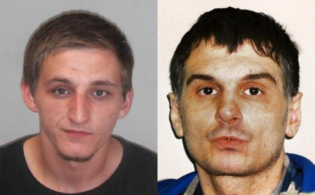 JAILED: Travis Attwood, left, and Dean Glazzard. Photos supplied by West Mercia Police