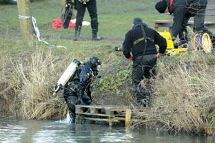 River horror: Police statement re dive teams