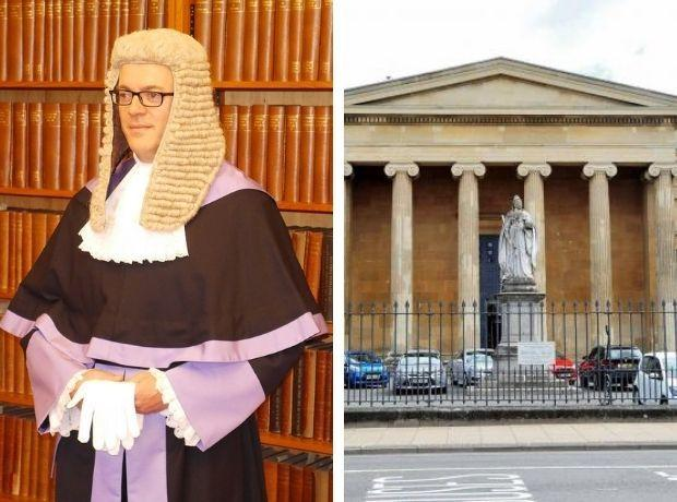 COURT: Judge Nicolas Cartwright (pictured) is set to hear cases in court room one at Worcester Crown Court
