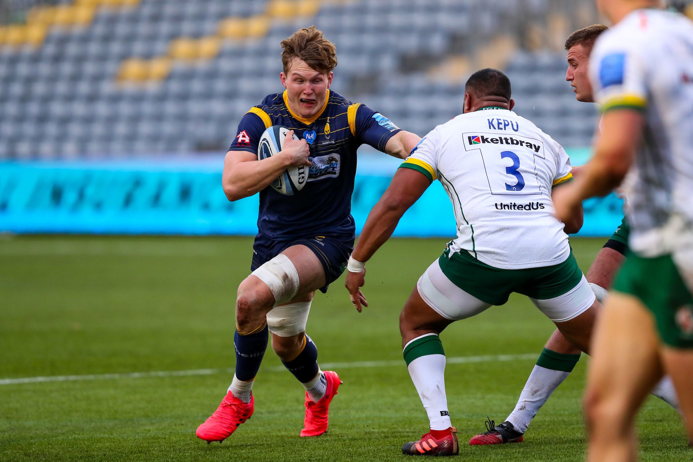 Reaction: Ted Hill reacts to Worcester Warrior's 11-10 win over London Irish