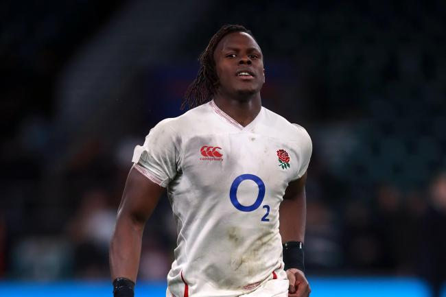 Maro Itoje was man of the match against Ireland