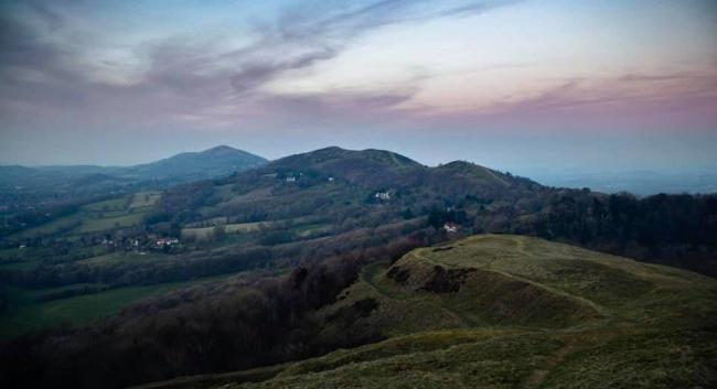 OPEN AIR: The Malvern Hills. Picture: Nick Bentley