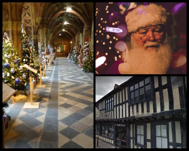 Five festive activities to attend near Worcester this December (Photo: Geograph/Pixabay)