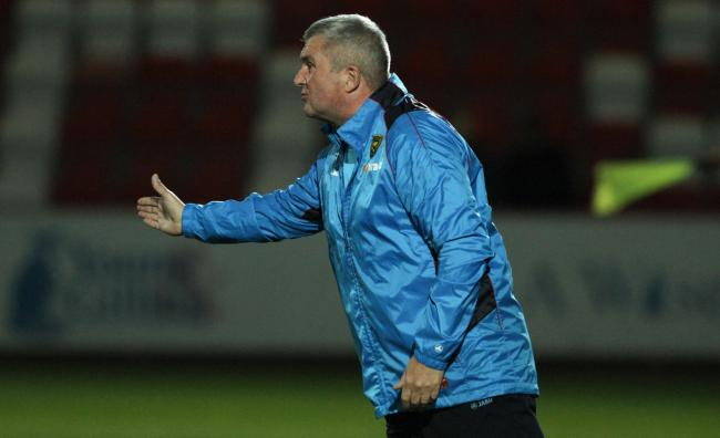 GOOD LUCK: New Worcester City boss Tim Harris. Picture: Gloucester Live
