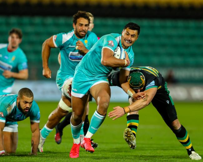 Melani Nanai of Worcester Warriors - Mandatory by-line: Nick Browning/JMP