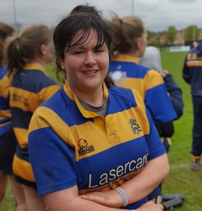 TRIBUTES: Jessica Pardo-Alvarez. Pic. Worcs Warriors Women