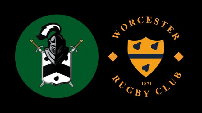 TOGETHER: Worcestershire Black Knights and Worcester RFC form new partnership. Pic: Worcester RFC