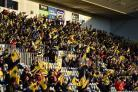 SIXWAYS: 4,000 could be back at the home of Worcester Warriors by mid-May. Pic: JMP