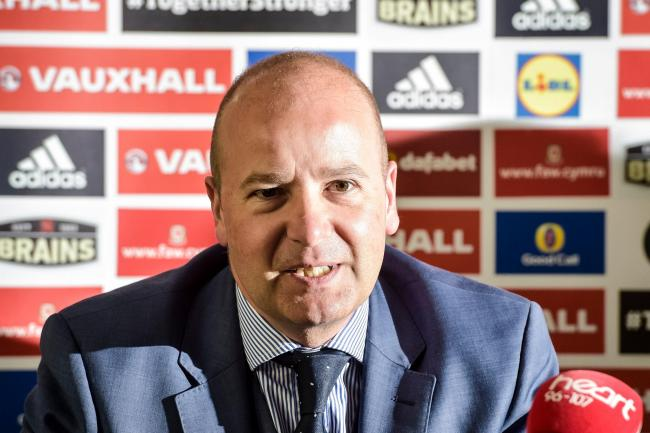 Football Association of Wales chief executive Jonathan Ford