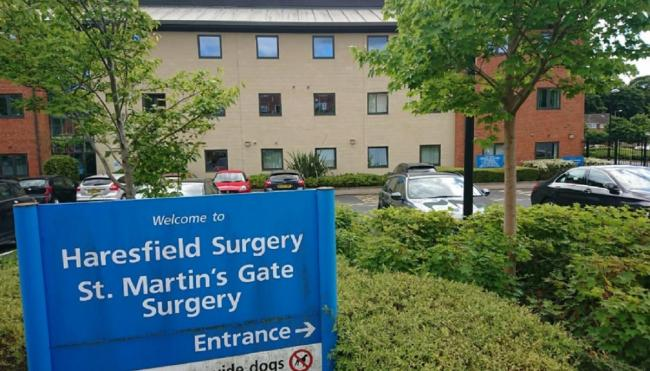AWARD: St Martin's Gate Surgery. Picture: Google