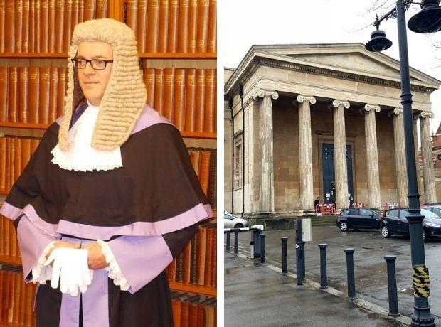 TRIAL: Judge Nicolas Cartwright is presiding over the trial at Worcester Crown Court