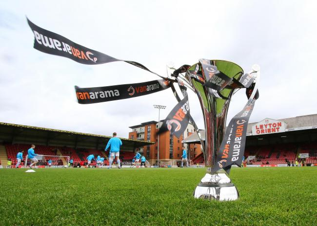 File photo dated 27-04-2019 of of the Vanarama National League Trophy. Issue date: Thursday January 21, 2021. PA Photo The National League received £10million from the Department of Culture, Media and Sport to allow the season to start back