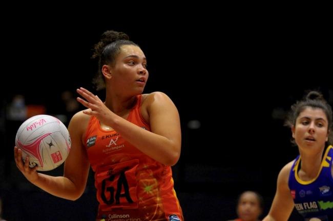 Severn Stars' Paige Reed in action. Pic: Ben Lumley