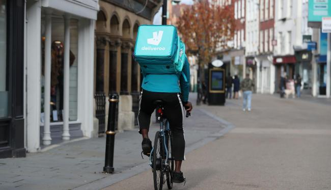 "THOSE WHO DELIVER: The pandemic ""revealed another, perhaps unexpected, breed of heroes – delivery drivers, whether for food, drink or goods"""
