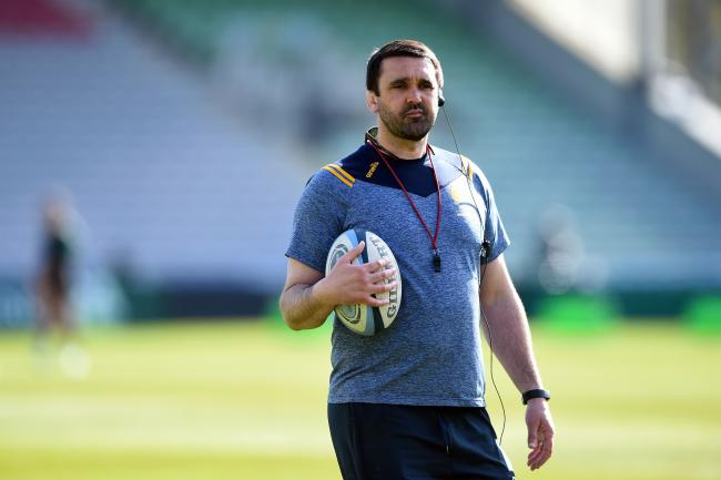 Worcester Warriors Head Coach Jonathan Thomas looks on during the pre-match warm-up - Mandatory by-line: Patrick Khachfe/JMP - 17/04/2021 - RUGBY UNION - The Twickenham Stoop - London, England - Harlequins v Worcester Warriors - Gallagher Premiership
