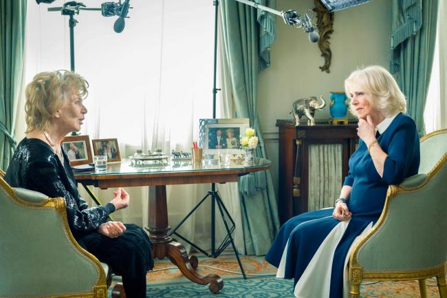 The Duchess of Cornwall meets Edna O'Brien