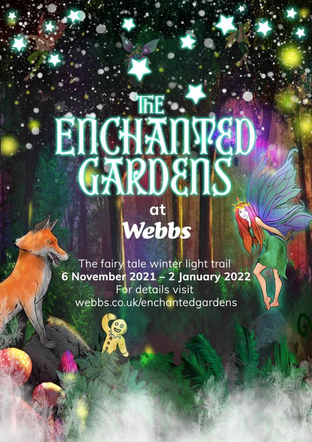 Worcester News: Webbs of Wychbold will host The Enchanted Gardens