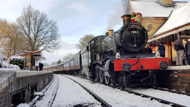 Worcester News: The Santa Trains are already 30% booked up