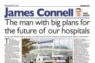 The man with big plans for the future of our hospitals