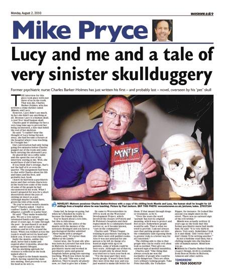 Lucy and me and a tale of very sinister skullduggery