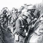 Worcester News: Soldiers in a World War One Trench