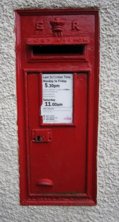 Villagers in Martley, near Worcester, are angry over the lack of a permanent postbox in the village