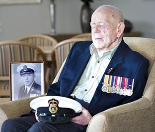 MEMORIES: Claude Choules (picture courtesy of the Royal Australian Navy)