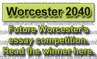 Worcester News: Future Worcester essay button