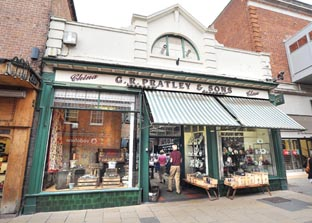 FOR SALE: G R Pratley and Sons has been in the same spot in The Shambles for 131 years – but now its owners are looking for a buyer. Picture by Nick Toogood. 27309202