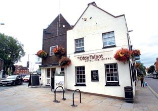 GETTING THE BALANCE RIGHT: Ye Olde Talbot, Worcester. 32336901