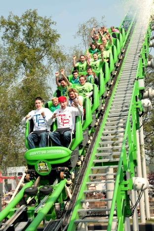 Have some fun this August Bank Holiday at Drayton Manor Theme Park