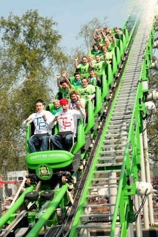 Twist & Pulse on new Ben 10 ride