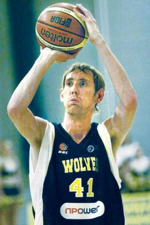DAVID WATTS: Deadly three-point shooter.