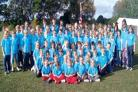 FUN DAY OUT: Members of Hallow Scout group took part in a range of activities to celebrate 100 years of Scouting.