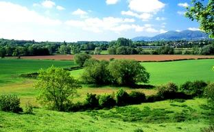 PANORAMIC: The Teme Valley.