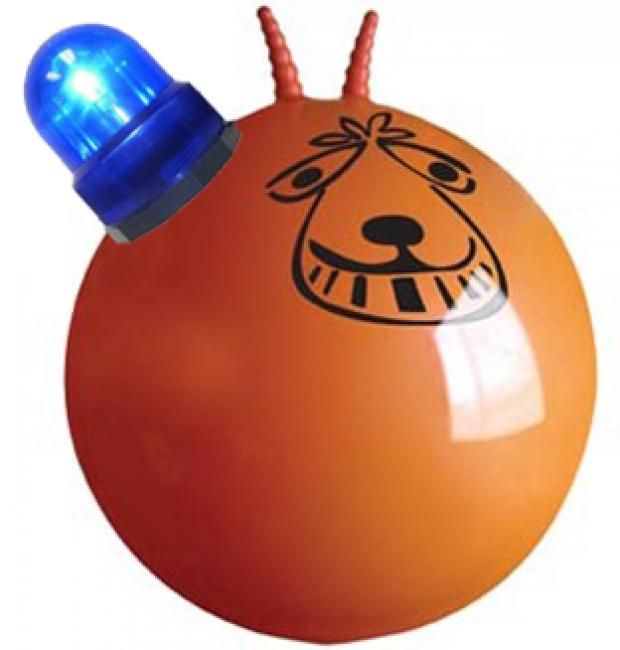 Copper injured in space hopper horror