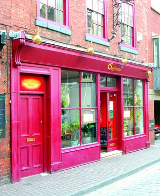 LAID BACK CHARM: Saffrons in New Street lived up to expectations.