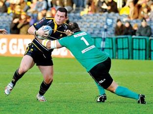 INSIGHT: Warriors' hooker Ed Shervington, a former Ospreys player, is always talking about his old club.